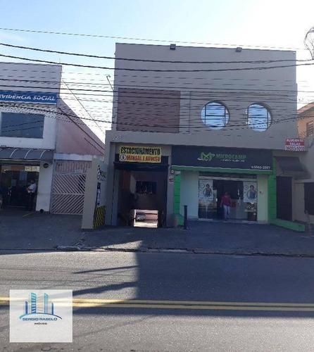 Conjunto Comercial Para Locação, Vila Mascote, São Paulo. - Sa0066