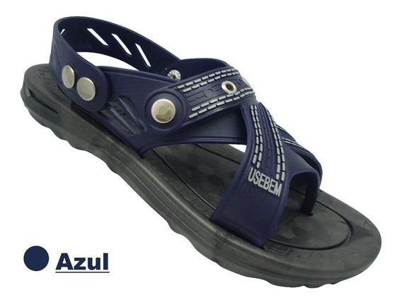 Sandalia Papet Use Bem Azul