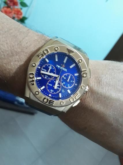 Relógio Tw Steel Em Ótimo Estado De Conservação Safira