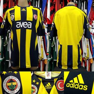 Camisa Fenerbahçe - adidas - 2007 - G - S/nº - Original
