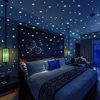 Bollepo Glow In The Dark Stars And Dots 332 3d Wall Stickers