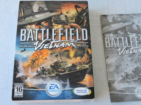 Battlefield Vietnam Original Colecionador Pc Game
