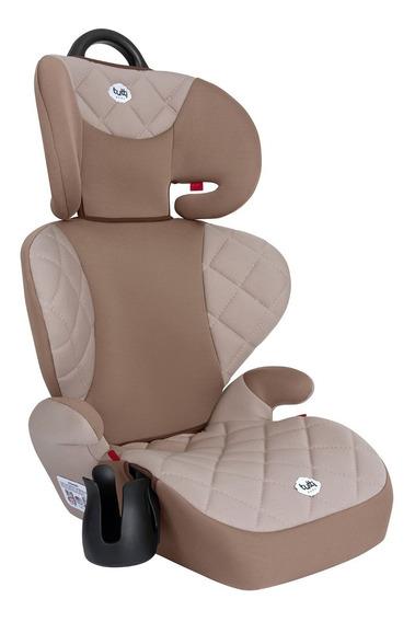 Cadeira Cadeirinha Infantil Bebê Carro Triton Marrom 15-36kg