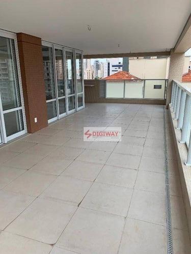 Imagem 1 de 27 de Apartamento Com 4 Dormitórios À Venda, 272 M² Por R$ 4.400.000,00 - Aclimação - São Paulo/sp - Ap2418