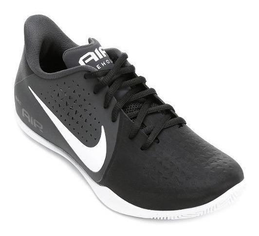 Tenis Basquete Nike Air Behold Preto Original +nf De: 359,90