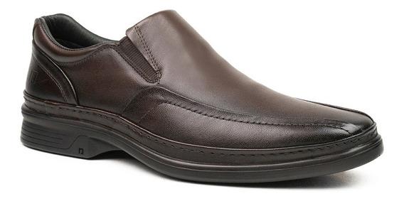 Sapato Social Masculino Pipper Holmes 54801 Couro Marrom