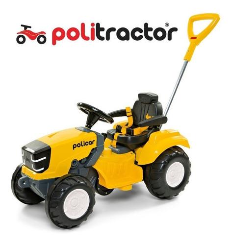 Quadriciclo Politractor® De Pedal Passeio Amarelo - 7591