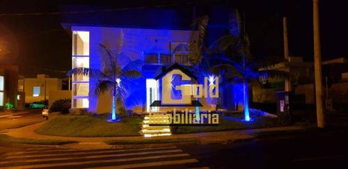 Casa Com 3 Dormitórios À Venda, 256 M² Por R$ 980.000,00 - Condomínio Buona Vita - Ribeirão Preto/sp - Ca0631
