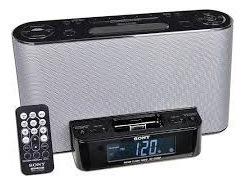 Corneta Radio Alarma Reproductor Marca Sony Icf - Cs10ip