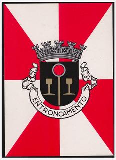 Cartão - Brasão Município De Entroncamento / Portugal