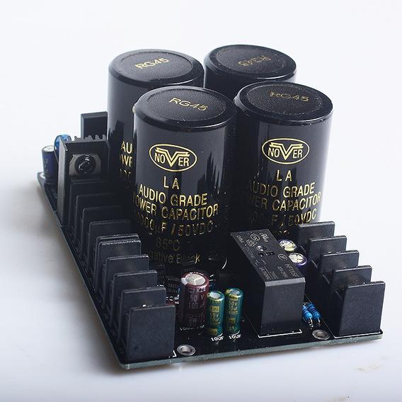 Placa Da Fonte P/ Amplificador Digital Montada Aio- 500w