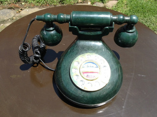 Mini Teléfono Estilo Antiguo De Botones