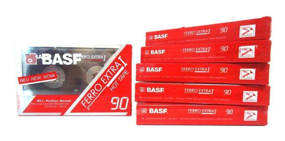 Fita Cassete - K7 - Basf 90 Ferro Extra I Hot Tape-new-nova