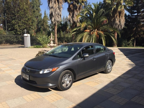 Honda Civic 2011 Hibrido Linea Nueva Full Equipo Impecable
