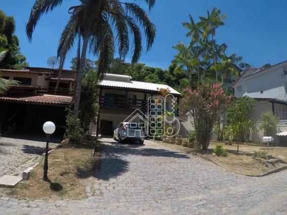 Casa Residencial À Venda, Engenho Do Mato, Niterói. - Ca0304