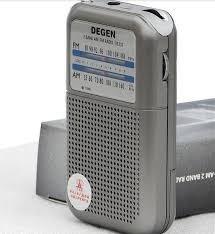 Rádio Portátil Degen De333 - Am / Fm