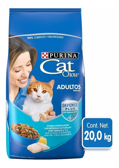 Purina Cat Chow Gato Bulto 20kg
