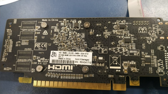 Placa De Video Radeon Hd 5450