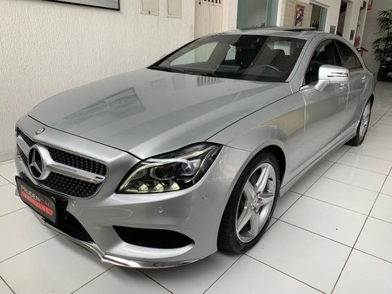 Mercedes-benz Cls400 3.0 V6 Bi-turbo 2016 Prata