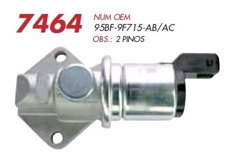 Atuador De Marcha Lenta Ford Ka 1.0 Endura 97 A 99