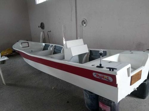 Barco Bote Fibra Pesca 6,30 Mt Console Artsol 40 Anos Fabric