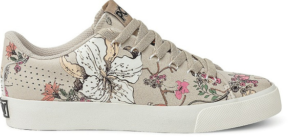 Zapatillas Pony Topstar Clean Ox Flowers Natural - Po308034