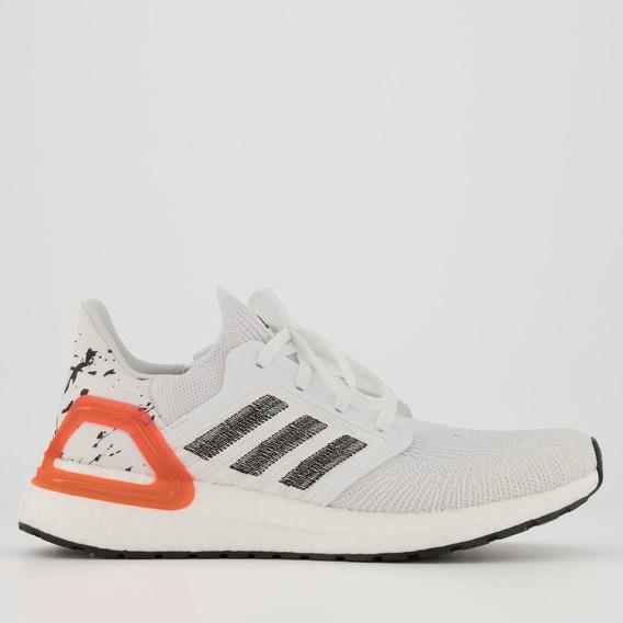 Tênis adidas Ultraboost 20 Branco E Coral