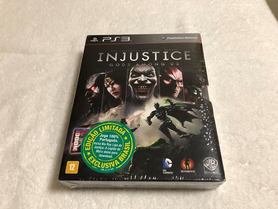 Injustice: Gods Among Us - Lacrado -100% Português Com Filme