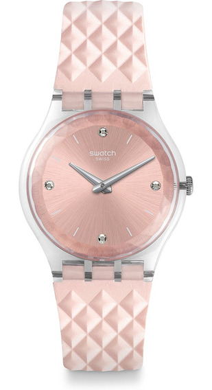 Relógio Swatch Irisette Feminino Rosa Ge259