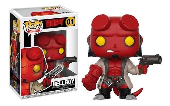 Hellboy Boneco Figure Em Vinil Funko Pop! 01