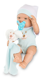 Boneco Bebezinho Real Newborn - 34cm Menino - Roma Brinquedo