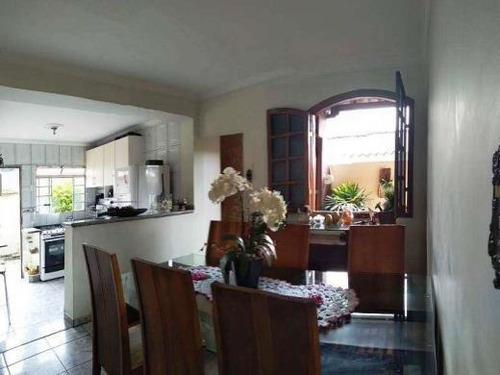 Imagem 1 de 20 de Casa À Venda, 3 Quartos, 2 Vagas, Minascaixa - Belo Horizonte/mg - 796
