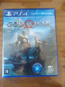 Consigo Frete Grátis God Of War 4 Ps4 Mídia Física