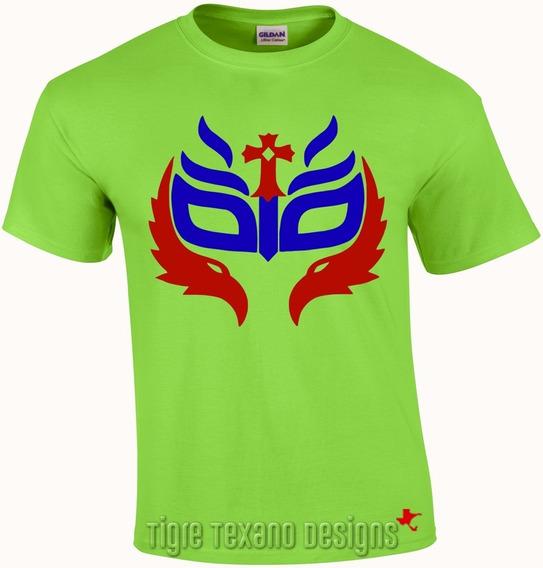 Playera Lucha Libre Rey Mysterio Jr. By Tigre Texano Designs