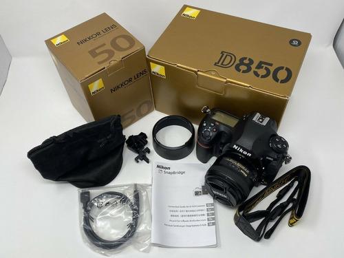 Nikon D850 45.7mp Fx Digital Slr Camera With Nikkor 50mm F/1