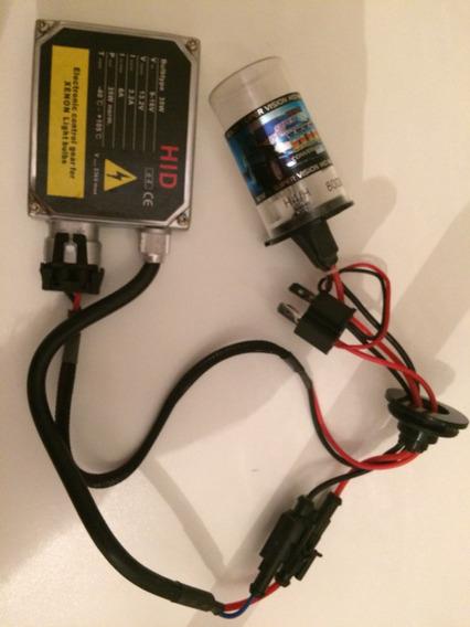 Reator Hid 35w + Lâmpada Xenon H4/h 8000k