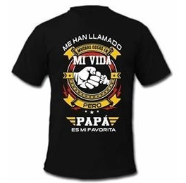 Playera Cumpleaños Papa