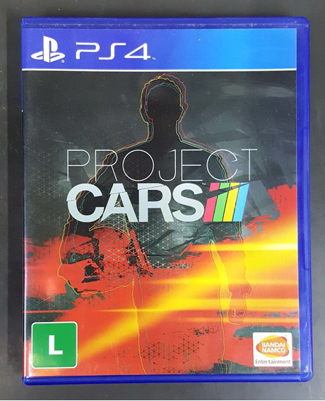 Project Cars + The Last Of Us - Ps4 - Midia Fisica