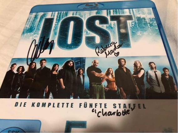 Lost Edição Autografada Evangeline Lilly Rebecca Mader