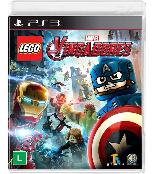 Jogo Novo Lacrado Lego Marvel Avengers Playstation 3 Ps3