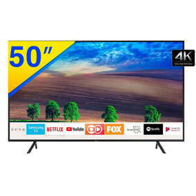 Smart Tv Led 50 Samsung 4k, Uhd, Hdr Premium, Smart Tizen,
