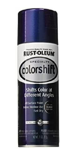 Aerosol Tornasolado Cambia De Color Azul Rust Oleum K37