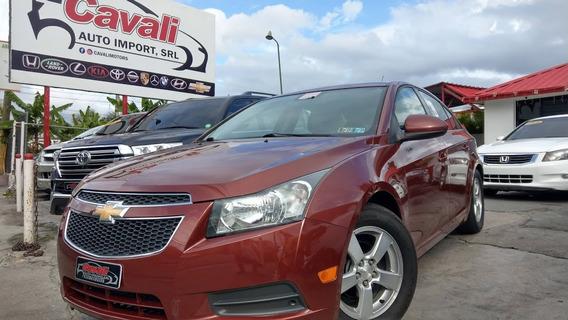 Chevrolet Cruze Lt Rojo 2013