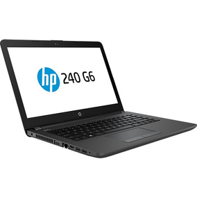 Notebook 14 Hp 240 G6 I3 7020u 4gb Ddr4 Hd 500gb Win10 Pro64