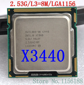 Processador Xeon X3440 8m 2.53ghz Lga1156 T310 X3200 M3 R310