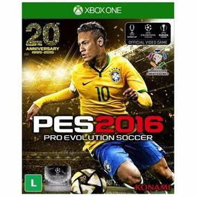 Jogo Pes 2016 - Xbox One Konami Novo Original