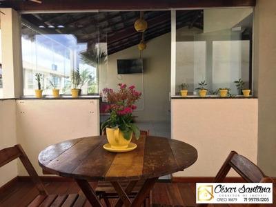 Casa Triplex Reformada Decorada Praia Do Flamengo Salvador - Ca00337 - 32875948