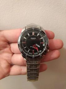 Relógio Masculino Casual Prateado Atlantis Original G3166