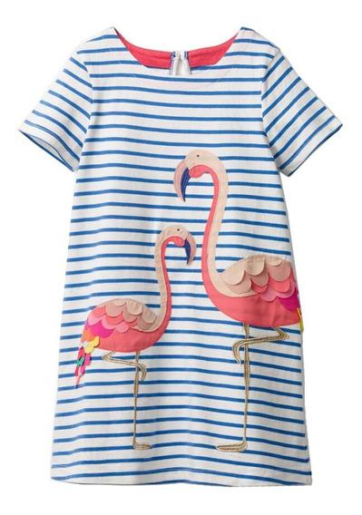 Vestidos Casuales Para Niñas De Algodón | Tipo Batica