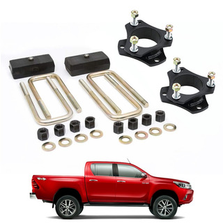 Toyota Hilux Kit Completo Levantar Suspensión 3 Pulgadas Fácil Instalación No Modifica Originalidad Del Vehículo
